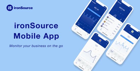 ironSource推出官方APP,实时监测广告数据