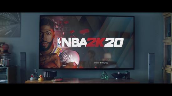 《NBA 2K20》公布真人预告 浓眉哥闪耀登场