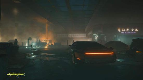 《赛博朋克2077》4K新截图展示黑夜场景