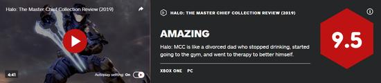 《光环:士官长合集 2019》IGN9.5分 像改过自新的离婚老父亲