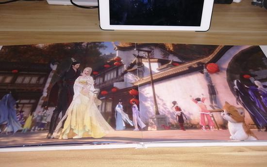 逆水寒女玩家用游戏拍了部绝美写真集,网友感慨国产游戏画面第一名不虚传