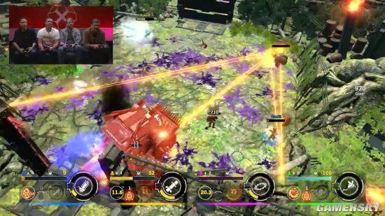 《魂斗罗:RC联盟》合作模式演示 四人联手屠杀怪物