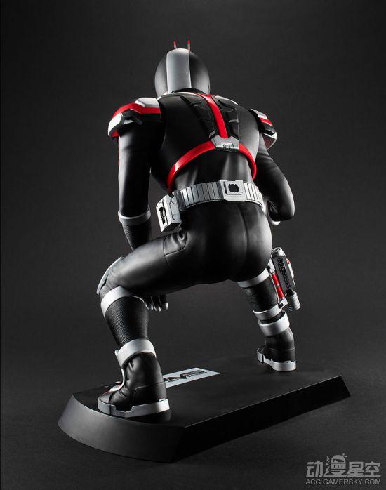 《假面骑士555》假面骑士Faiz雕像 头部可发光超帅