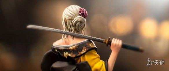 《巫师3》官方商城推出日式希里雕像 和服太刀大大大