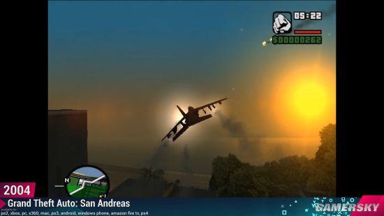 《GTA》系列飞机进化史 从断翅dodo到百花齐放