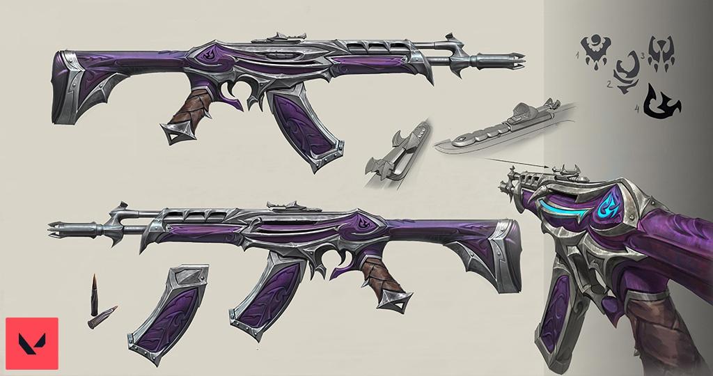 《Valorant》开发日志:武器造型的工艺与幻想