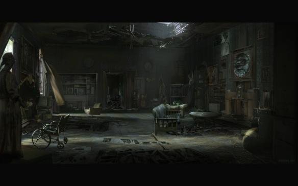 黑暗中的末世!俄罗斯概念画师Eugenia Firs佳作欣赏