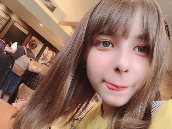 日本五国混血美少女 兼具异国成熟气质与可爱面庞