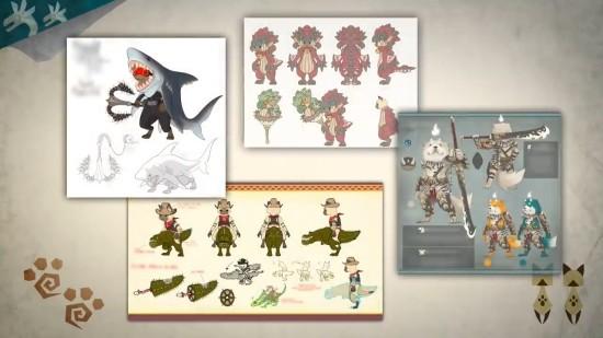 《怪物猎人:世界》冰原设计大赛优秀奖公布