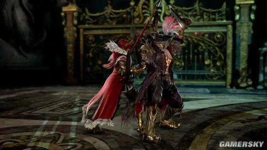 《灵魂能力6》新角色希尔德公开:重甲妹子 霸气王国战士