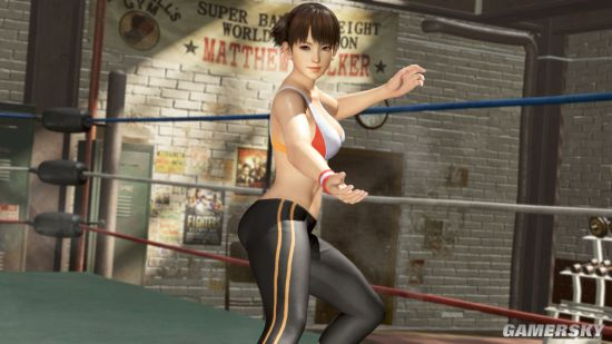 《死或生6》香汗淋漓DLC今日推出 健身少女动感魅力