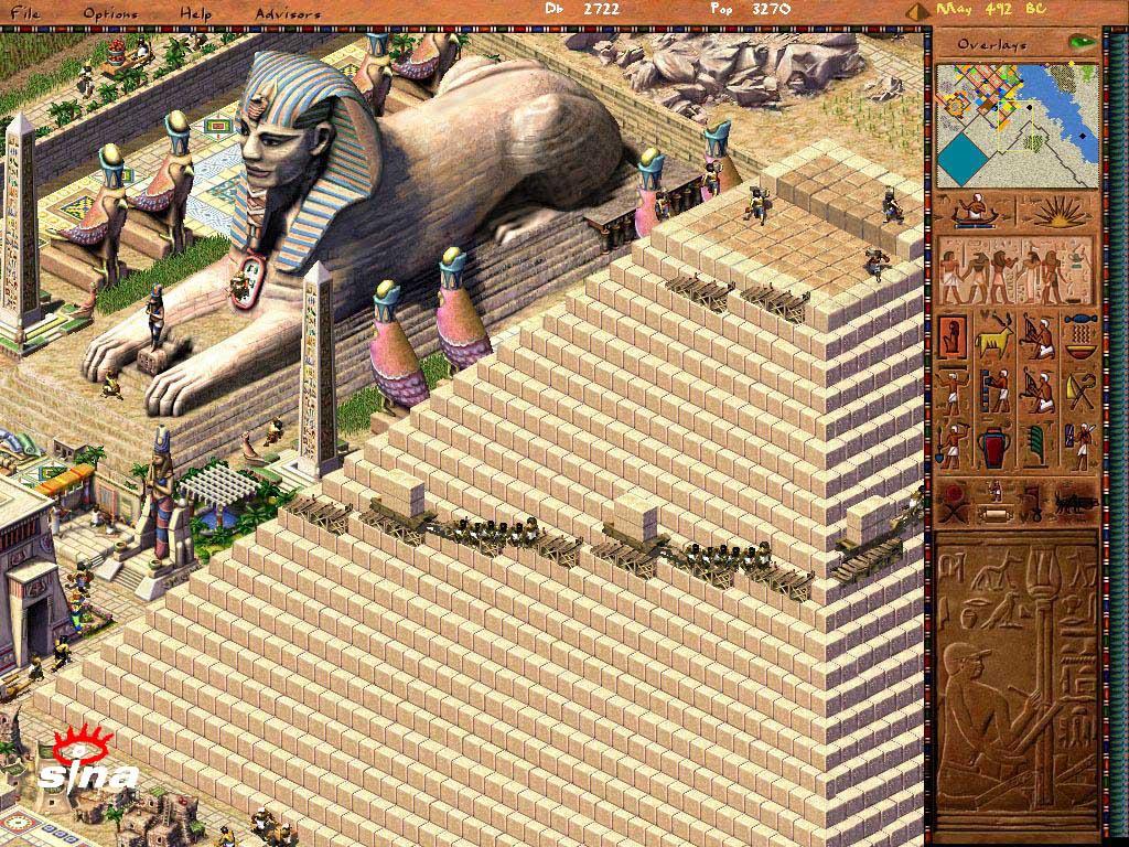 游戏前瞻:再现古埃及文明辉煌《法老王》图片